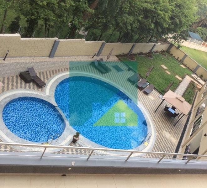 Three bedroojm furnished apartment for rent in Kololo
